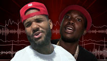The Game -- Diss Track Threatens 'Snitch' Meek Mill ... Wants to Bang Nicki Minaj (AUDIO + VIDEO)