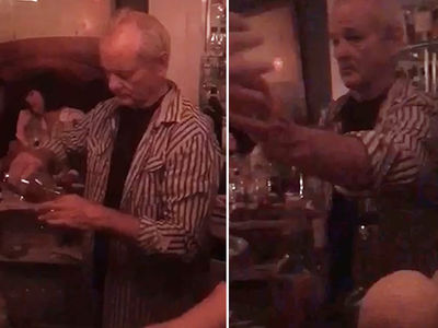 Bill Murray -- 1 Tequila, 2 Tequila, 3 Tequila, 4 ... (VIDEO)