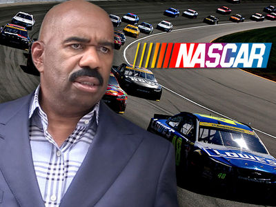 Steve Harvey -- Racist NASCAR Crushed His Speed Dreams ... Racing Exec Sues