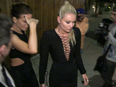 Lindsey Vonn & Kate Beckinsale -- Hollywood Smoke Show ... Heats Up Emmy Party (VIDEO)