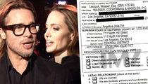 Angelina Jolie & Brad Pitt -- See the Divorce Docs
