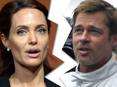 Angelina Jolie -- Files for Divorce from Brad Pitt ... Allegations of Substance Abuse, Anger