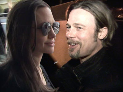 Angelina Jolie, Brad Pitt -- Settlement Negotiations Full Steam Ahead
