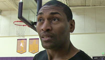 Metta World Peace -- Allegedly Terrorized By Deranged Woman ... Slashed Tires, Stalked Kids, Violent Threats (DOCUMENT)