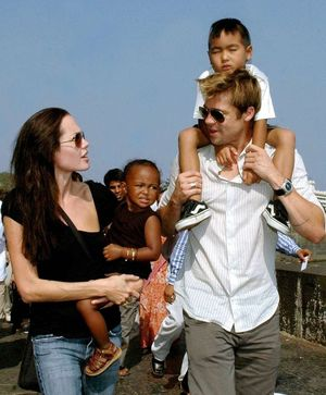 Brad and Angelina's Family Photos