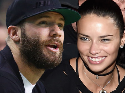 Julian Edelman -- Still in Adriana Lima's Starting Lineup After Seacrest Date