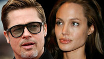 Brad Pitt -- Angelina's Anger Claims are BS ... He's NOT a Dangerous Dad