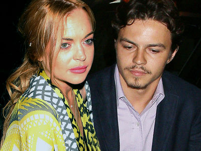Lindsay Lohan -- Egor Hit Me and He's Broke!