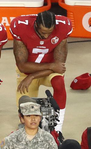 Colin Kaepernick Takin' A Knee
