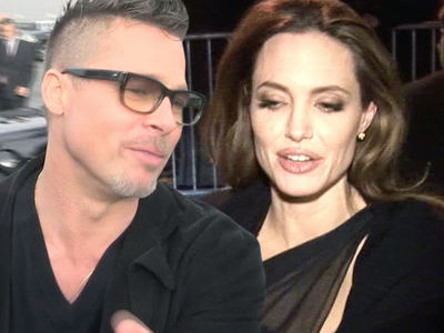 Brad Pitt -- Angelina's UN Ambitions ... UN-Safe For Our Kids!!