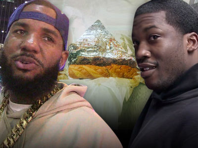 The Game -- Meek Mill Crew On the Hunt for Rapper, Cheesesteak (VIDEO)