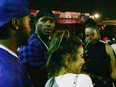 Yasiel Puig -- Clubbin' In Hollywood ... After Dodgers Clinch N.L. West (VIDEO)