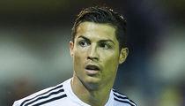 Cristiano Ronaldo's Private Jet Crash-Lands -- Soccer Star NOT On Board (PHOTOS)