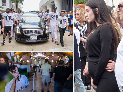 Jose Fernandez -- Pregnant Girlfriend Attends Funeral Procession (PHOTO GALLERY)