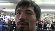 Manny Pacquiao -- 'I Tried All Kinds of Drugs' ... Before I Became a Champ