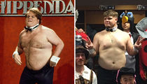Seattle Mariners -- Rookie Gets Chris Farley Treatment ... Chippendales Lives! (PHOTO + VIDEO)