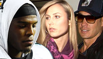 Cam Newton -- Allegedly Trashes Bev Hills Mansion ... Stacy Keibler's Hubby Sues