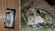 Samsung Sued -- Your Phone Blew Up On My Crotch (PHOTOS)