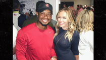 Tiger Woods -- Partying with Smokin' Hot Blonde ... Paulina Gretzky! (PHOTO)