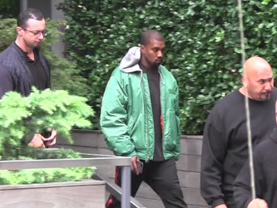 Kanye West -- Racing to Kim's Side (VIDEO)