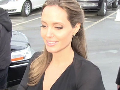 Angelina Jolie -- Malibu Suits Me ... Looking to Set Down Roots