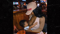 Zola the Stripper -- Breastfeeding & Hooters Go Together Like Wings & Hot Sauce