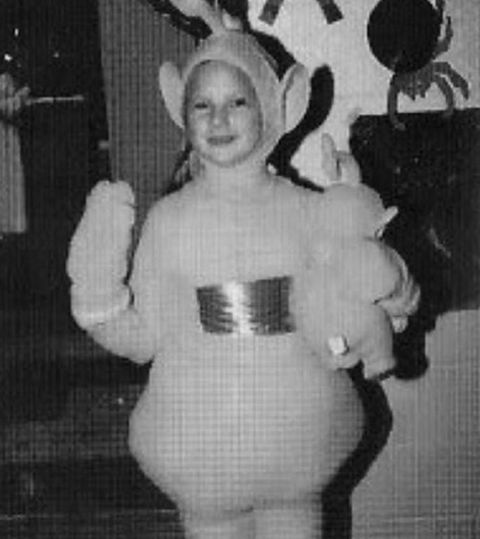 Guess the cute costumed kid!