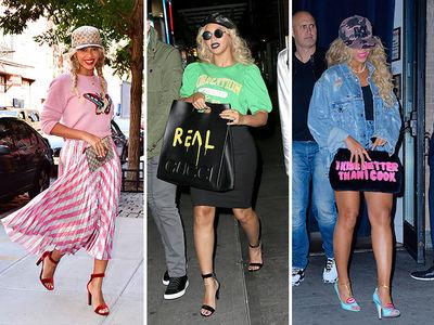 Beyonce -- Keeping It Caszh (PHOTOS)