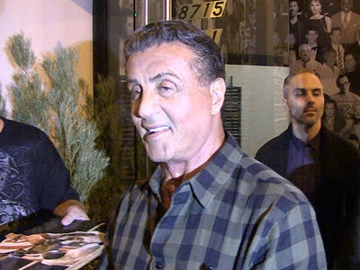 Sylvester Stallone -- 'Rocky' Woulda Gotten Smashed In UFC (VIDEO)