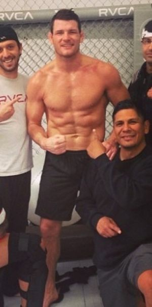 UFC Fighter Michael Bisping's Hot Snapshots