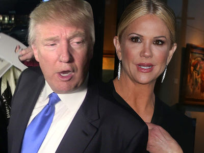 Donald Trump -- Tried Firing Nancy O'Dell in 2007 ... Too Pregnant to Host Miss USA