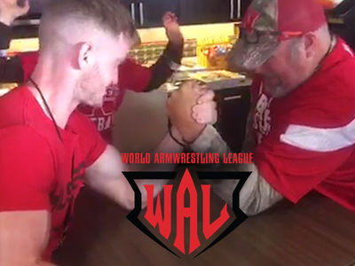Pro Armwrestling League -- Recruiting Larry the Cable Guy ... 'Obviously Has Potential'