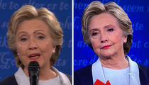 Hillary Clinton -- Pretty Fly Debate Performance (PHOTO)