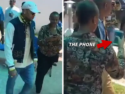 Chris Brown -- Broken Phone Accuser's Lying ... She Just Wanted Freebies (VIDEO)