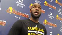 LeBron James -- Trump's Comments Are 'Trash Talk' ... Not Locker Room Talk