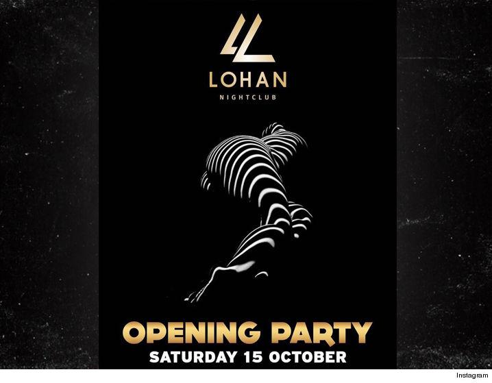 Lindsay Lohan Is a Nightclub Owner!