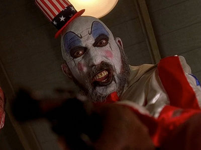 Captain Spaulding in 'House of 1000 Corpses' and 'Devil's Rejects': 'Memba Him?!