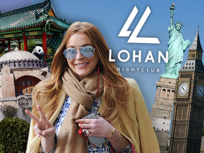 Lindsay Lohan -- I Will Rule the World ... With Spas and Delicious Drinks