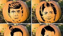 Celebrity Pumpkin Stencils -- Makin' The Cut!