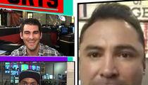 Oscar De La Hoya -- Bears Vs. Jags Brawlers Sucked ... 'Learn How to Fight' (VIDEO)