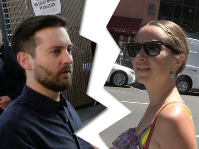 Tobey Maguire -- My Wife and I Are Breaking Up