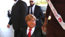 Beacher's Madhouse -- Mini Trump Storms Trump International in Vegas (VIDEO)
