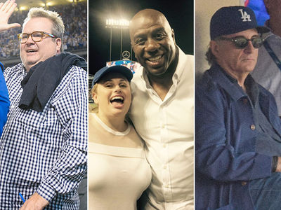 L.A. Dodgers -- Big Stars Gather for Cub Domination ... Is That Rebel Wilson? (PHOTO GALLERY)