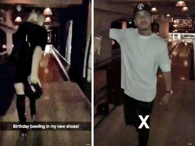 Lindsey Vonn -- Birthday Bowling In Stilettos ... With Lewis Hamilton (VIDEO + PHOTOS)