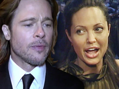 Brad Pitt -- I'm Not Answering Angelina's Divorce ... For the Sake of Our Kids