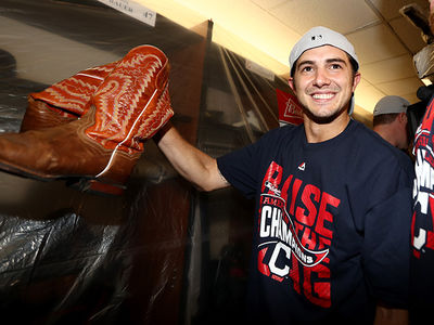 Cleveland Indians Pitcher -- Hey, Blue Jays ... Suck On THESE BOOTS!!! (PHOTOS)