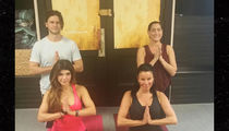 Teresa Giudice -- 'Prostitution Whore' Is My Friend Again ... Namaste (PHOTO)