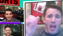 Chael Sonnen -- Tito Ortiz Is Broke ... (Tito Denies, Flips Bird) (VIDEO + PHOTO)