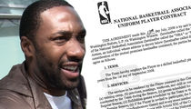 Gilbert Arenas -- Here's My $111 Million NBA Contract ... Take a Look! (DOCUMENT)