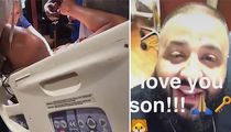 DJ Khaled -- Records Birth ... What's Poppin' Baby??? (VIDEO)